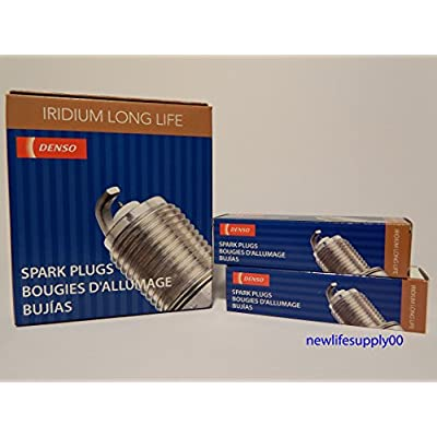 DENSO --- SKJ16DR-M11--- Iridium LONG LIFE Spark Plugs -- #3422 ----- 6 PCS NEW: Automotive