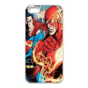 iPhone 4 4s Cell Phone Case White Superman And Flash Qgesa