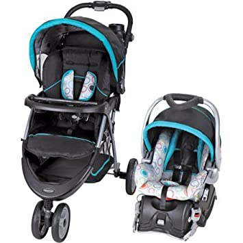 Amazon.com : Baby Trend EZ Ride 5 Travel System, circle stitch : Baby