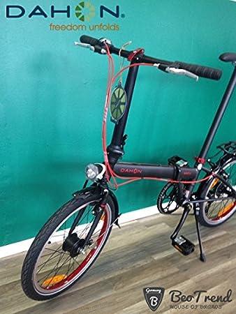 Bicicleta plegable Dahon Speed D7 Obsidian 20zoll/7gang/Deluxe del paquete: Amazon.es: Deportes y aire libre
