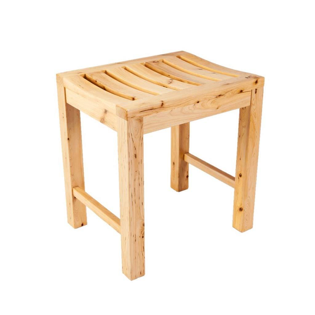 【正規品質保証】 シャワースツールバスルーム椅子バススツールモバイルポータブル補助腐食木材抗菌浴室最大荷重150kg   B07JQF5R92, U&JMac's:0fd61fb7 --- arianechie.dominiotemporario.com