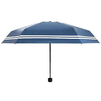 longge Paraguas, Manualmente Paraguas Plegable Refuerzo liviano A Prueba de Viento Irrompible Viaje Compacto Bolsillo