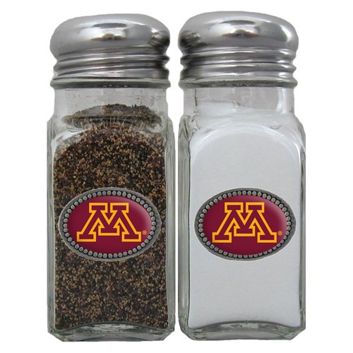 NCAA Minnesota Golden Gophers Salt & Pepper Shakers (Minnesota Gopher Tailgating)