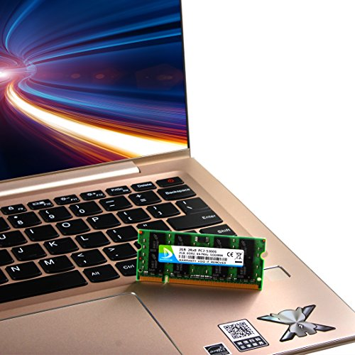 DUOMEIQI 4GB (2X 2GB) 2RX8 PC2-5300 PC2-5400 DDR2 667MHz CL5 200 Pin 1.8v SODIMM Notebook RAM Non-ECC Unbuffered Laptop Memory Module Compatible with Intel AMD and MAC System by D DUOMEIQI (Image #4)
