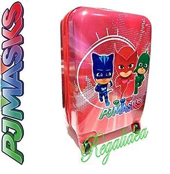 pjmasks PJ MASKS pigiamini Big Trolley Rojo 3 personajes Escuela Viaje 2018