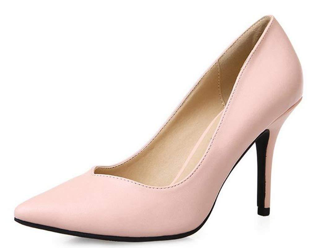 Fuxitoggo Die Schuhen (Farbe   Rosa Größe   34)