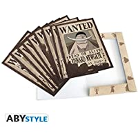"""ABYstyle - ONE PIECE - Portfolio 9 posters wanted """"Personnages#2"""" (21x29,7)"""
