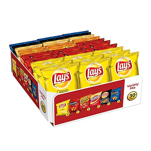Frito-Lay Variety Pack, Classic Mix, 30 pack- 51.5