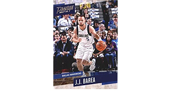 Amazon.com: 2017-18 Panini Prestige #80 J.J. Barea Dallas Mavericks Basketball Card: Collectibles & Fine Art