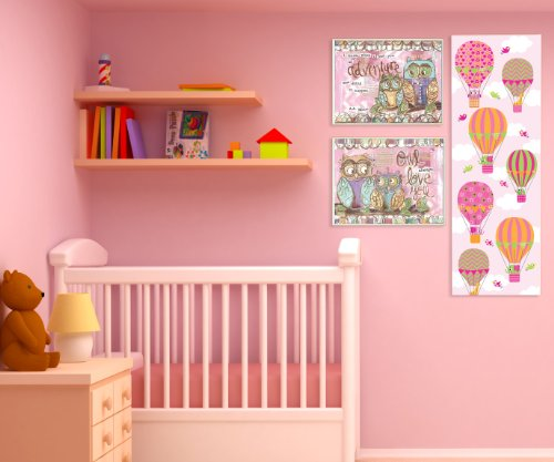 The Kids Room By Stupell Owl Always Love You Wall Decor