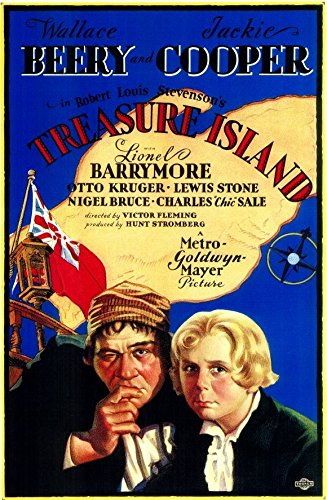 treasure-island-poster-movie-11x17-wallace-beery-jackie-cooper-lionel-barrymore-lewis-stone