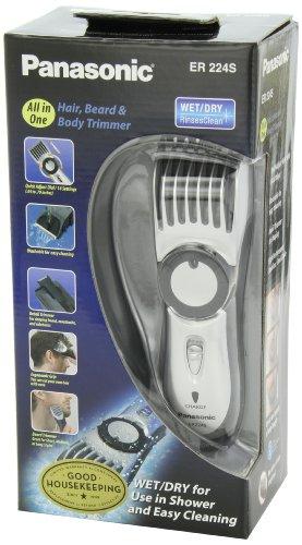037988562220 - Panasonic ER224S Men's Cordless Wet/Dry Hair, Beard and Body Electric Trimmer carousel main 7