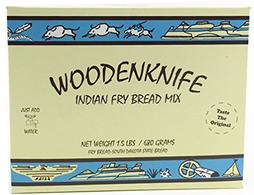 - Woodenknife Indian Fry Bread Mix, 1.5 Pounds