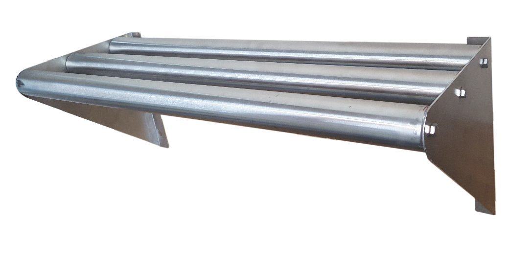 Commercial Stainless Steel Tubular Wall Shelf 18 x 60