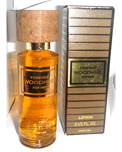 Faberge Woodhue Cologne for Men After Shave Lotion 2.5oz Rare by FABERGE
