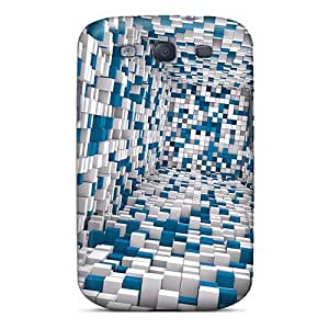 Excellent Design 3d Tunnel Cases Covers For Galaxy S3