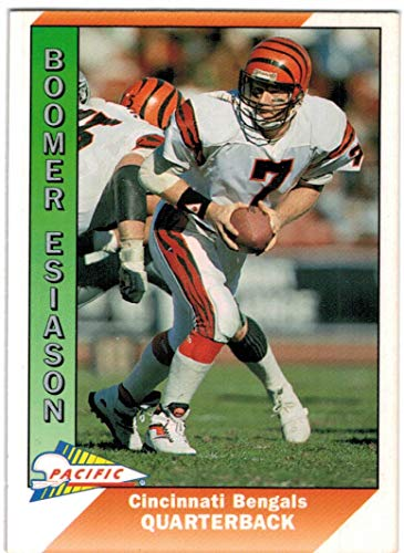 - 1991 Pacific with Update Cincinnati Bengals Team Set with Boomer Esiason & Anthony Munoz - 22 NFL Cards