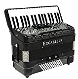 Excalibur Double Crown 72 Bass Accordion - 5 Switch