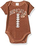 NFL Cincinnati Bengals Boys Football Bodysuit, 0-3 Months, Brown
