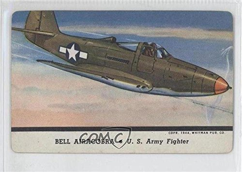 Bell Airacobra (Trading Card) 1944 Leaf Card-O Aeroplanes - Mixed Series R112-12 Military Aircraft #NoN
