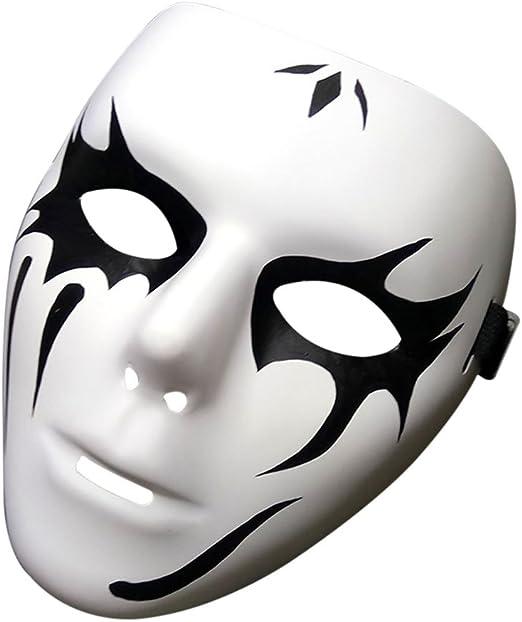 Outgeek Máscaras de Disfraces pintadas a Mano de Halloween Máscara ...