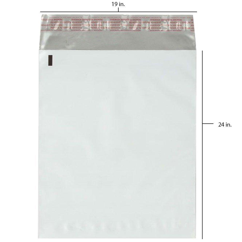 500 - 19x24 Fosmon Large Self-Seal Tear-Proof Polyethylene Mailers (500)