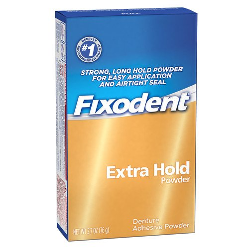 (Fixodent Denture Adhesive Powder Extra Hold 2.70 oz (Pack of)