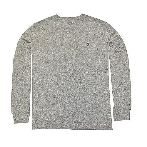 Polo Ralph Lauren Men\u0027s Long Sleeve Pony Logo T-Shirt - Medium - Dark  Vintage