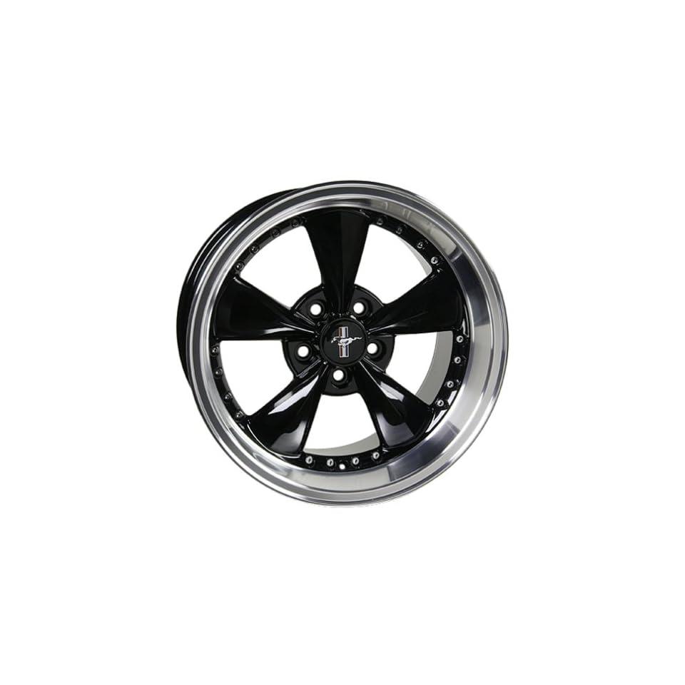 Ford Mustang Bullet Black Style Wheel Wheels Rims 1994 1995 1996 1997 1998 1999 2000 2001 2002 2003 2004 2005 94 95 96 97 98 99 00 01 02 03 04 05