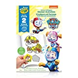 Crayola My First Colour and Shapes Sticker Activities, Paw Patrol,  for Toddlers, for Girls and Boys, Gift for Boys and Girls, Kids, Ages 3, 4, 5,6 and Up, Holiday Gifting, Stocking Stuffers, Arts and Crafts