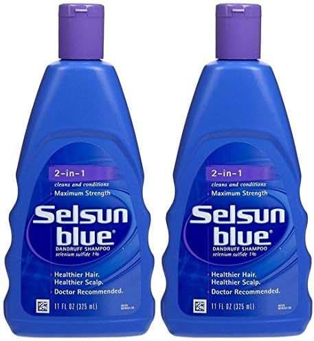 Shampoo & Conditioner: Selsun Blue 2-In-1 Maximum Strength