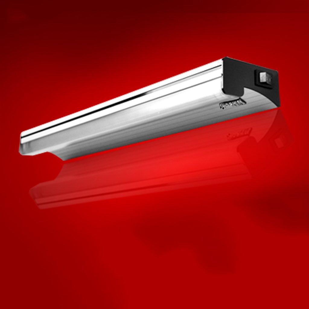 badezimmerlampe LED-Spiegel-Licht, moderne minimalistische Badezimmer-Badezimmer-Spiegel-Lampen-Verfassungs-Licht-Leuchtstoffröhre mit Schalter (Farbe   Warmes Licht-4W 34cm)