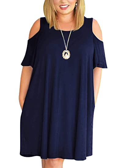 194ace205 5 estilos de vestidos que disimulan la barriga de las chicas plus ...