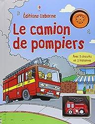 CAMION DE POMPIERS AVEC JOUETS
