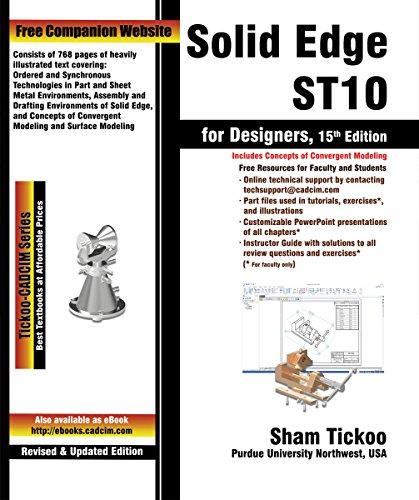 E.B.O.O.K Solid Edge ST10 for Designers, 15th Edition<br />T.X.T