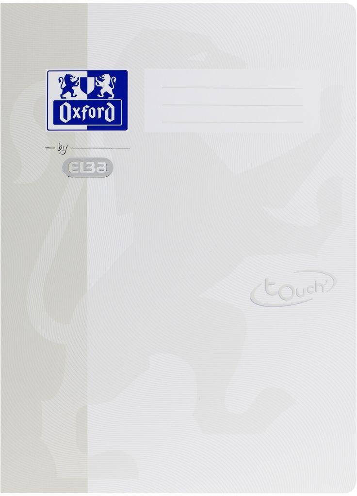 Oxford by ELBA 400103409 Schnellhefter aus festem Karton mit Soft Touch-Oberfl/äche f/ür Format DIN A4 in der Farbe Lila