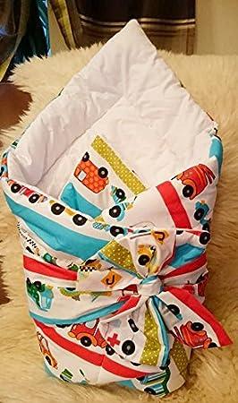 Manta de forro polar saco de dormir con mangas para bebés diseño con dibujo de Thomas