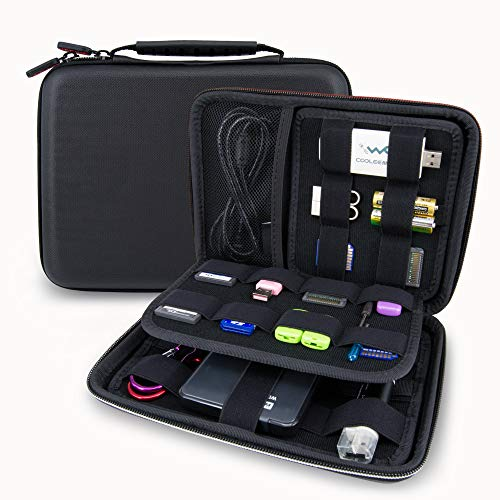 USB Flash Drive Case Bag/Hard Drive Case Bag - Wolven Portable EVA Waterproof Shockproof Hard Drive Case/USB Flash Drive Case/GPS Case/Digital Camera Case - New