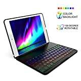 iPad 6th Generation Case with Keyboard Compatible for 2017 iPad 9.7 5th Gen