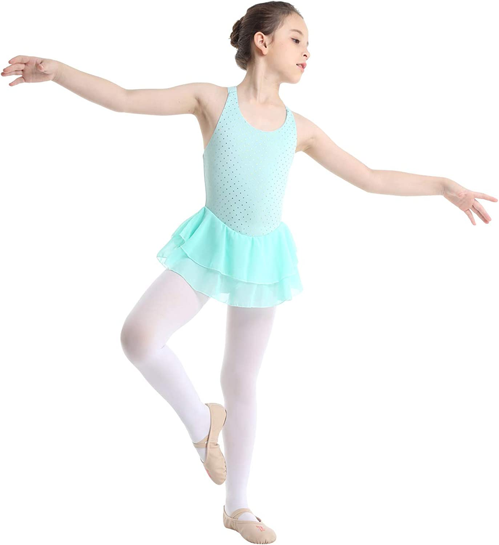 Kids Girl/'s Straps Camisole Dance Ballet Tutu Dress Up Leotard Dancewear Costume