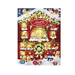 Lindt 2020 Holiday Teddy Bear Advent Calendar, Great for Holiday Gifting, 6.1 Oz
