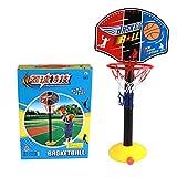 Osave Kid Ajustable Height Basketball Stands Kids Indoor Outdoor Basketball Goal Hoop Toy Set