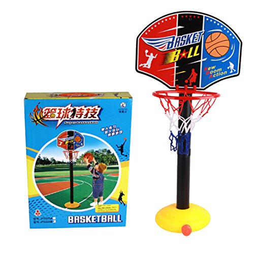 Osave Kid Ajustable Height Basketball Stands Kids Indoor Outdoor Basketball Goal Hoop Toy Set