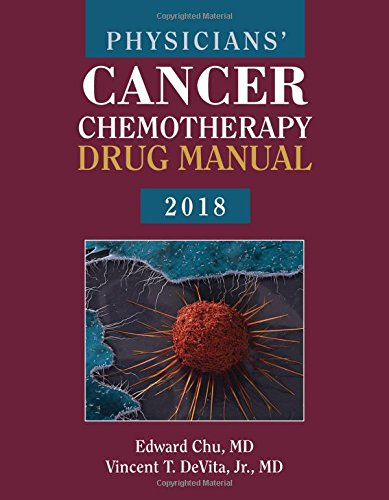 1284144968 - Physicians' Cancer Chemotherapy Drug Manual 2018