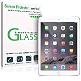 amFilm iPad 9.7 Screen Protector Tempered Glass for Apple iPad 9.7' (2018, 2017)/iPad Pro 9.7 Inch/iPad Air/iPad Air 2, New iPad 5th, 6th Gen, Apple Pencil Compatible