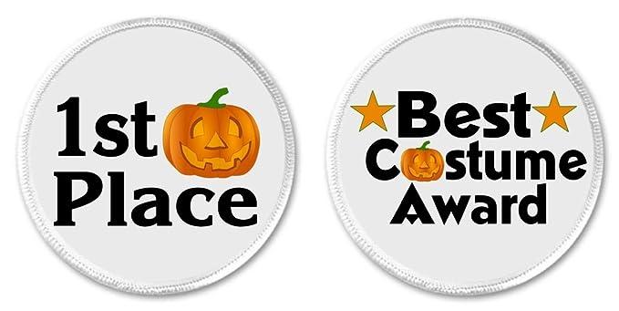 amazon com set 2 best costume award 1st place halloween pumpkin 3