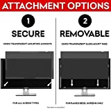 SightPro 24 Inch Computer Privacy Screen Filter for 16:9 Widescreen Monitor - Privacy and Anti-Glare Protector