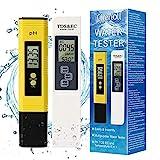 TDS Meter Digital Water Tester, PH Meter