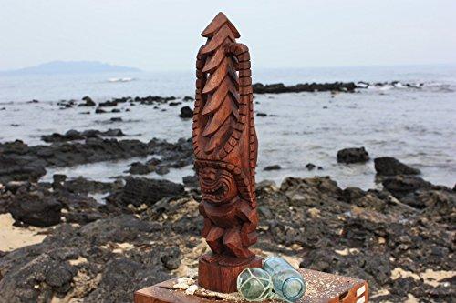 Tiki Kona Style Akua Kai 20'' - Stained Hawaii Museum Replica - Ocean Tiki by TikiMaster