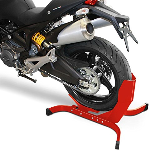 Amazon.com: ConStands Motorcycle Wheel Chock Triumph Rocket III Easy Plus Red: Automotive